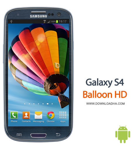 galaxy s4 balloon hd android والپیپر زنده Galaxy S4 Balloon HD 1.0   اندروید