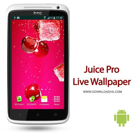 juice pro lw android والپیپر زنده Juice PRO Live Wallpaper 3.0   اندروید