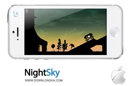 night sky بازی سرگرمکننده NightSky 1.0   آیفون و آیپد
