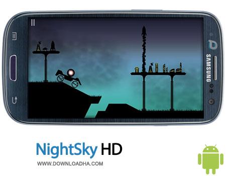 nightsky hd android بازی سرگرمکننده NightSky HD 1.0.3   اندروید