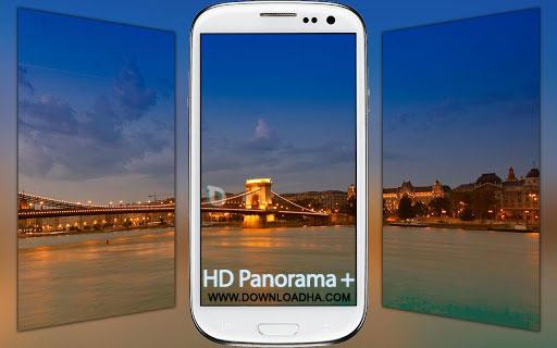 hd panorama android عکاسی پانوراما با HD Panorama+ 2.13   اندروید