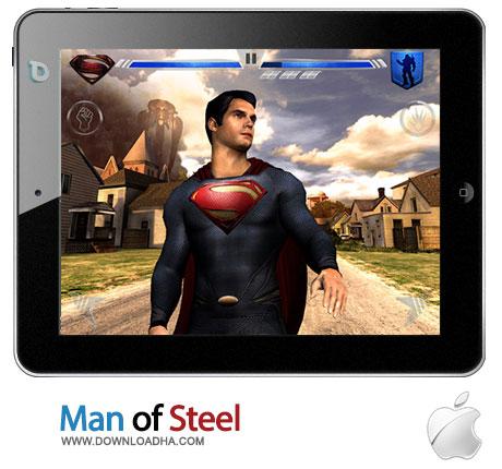 man of steel hd ipad دانلود بازی اکشن Man of Steel HD 1.0   آیپد