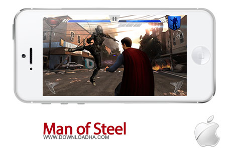 man of steel iphone دانلود بازی اکشن Man of Steel 1.0   آیفون