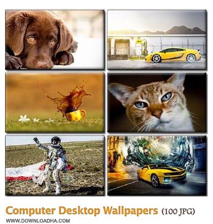 WallCDW2 مجموعه 100 والپیپر زیبا برای دسکتاپ Computer Desktop Walpapers