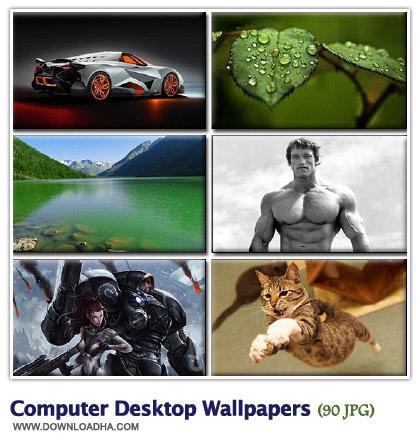 WallCDW3 مجموعه 90 والپیپر زیبا با موضوعات گوناگون Computer Desktop Walpapers