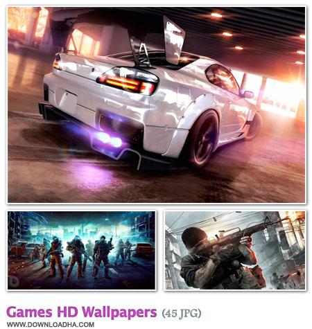 WallGHW2 مجموعه 45 والپیپر زیبا با موضوع گیم Games HD Walpapers