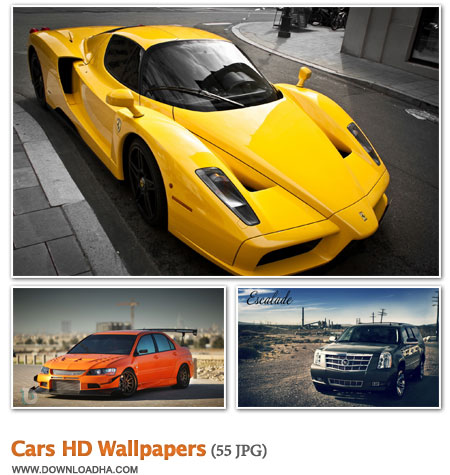 WallCHW3 مجموعه 55 والپیپر زیبا با موضوع خودرو Cars HD Wallpapers