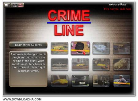Crime Cover دانلود بازی Crime Line برای PC