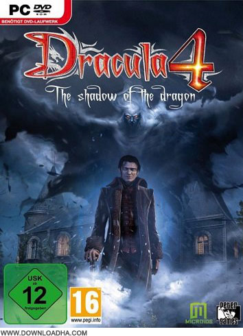 Dracula Cover دانلود بازی Dracula 4: Shadow of the Dragon برای PC