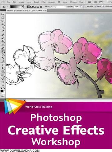 Creative دانلود فیلم آموزش فوتوشاپ Photoshop Creative Effects Workshop