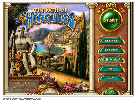 Path Cover دانلود بازی The Path of Hercules برای PC