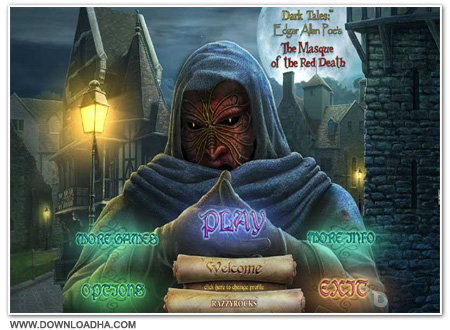 Poes Cover دانلود بازی Dark Tales 5: Allan Poes The Masque of the Red Death
