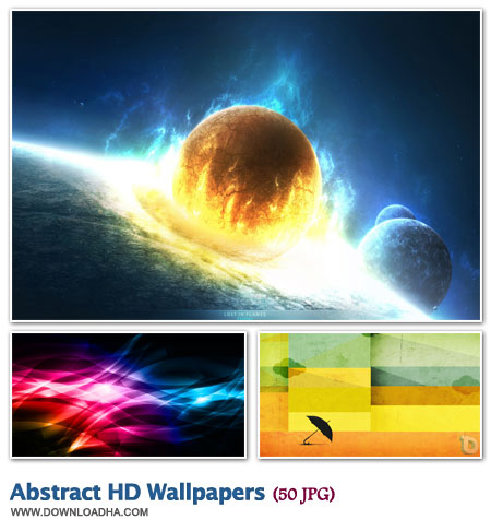 WallAHW2 مجموعه 50 والپیپر گرافیکی و هنری Abstract HD Walpapers
