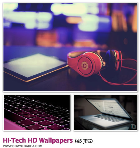 WallHTHW مجموعه 43 والپیپر زیبا با موضوع تکنولوژی Hi Tech HD Walpapers