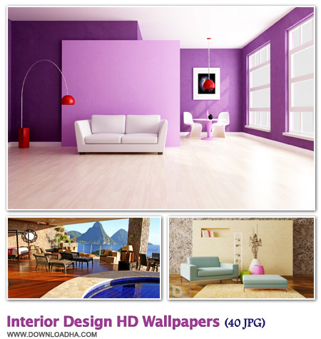 WallIDHW 40 والپیپر زیبا با موضوع دکوراسیون خانه Interior Design HD Walpapers