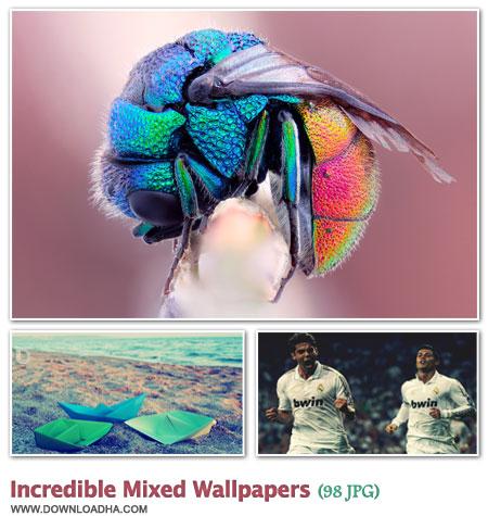 WallIMW2 مجموعه 98 والپیپر دیدنی با موضوعات گوناگون Incredible Mixed Walpapers