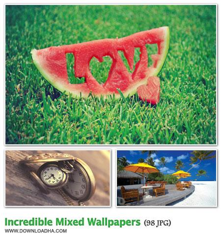 WallIMW3 مجموعه 98 والپیپر زیبا با موضوعات مختلف Incredible Mixed Walpapers