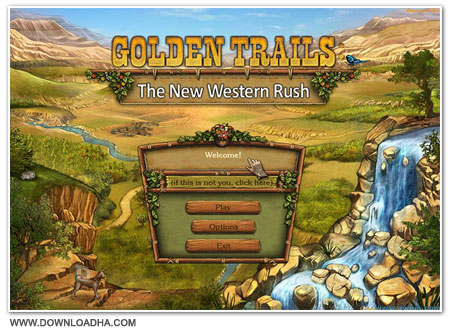 Western Cover دانلود بازی Golden Trails The New Western Rush برای PC
