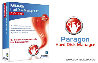 Paragon Hard Disk Manager 12 Professional مدیریت حرفه ای هارد با Paragon Hard Disk Manager 12 Professional 10.1.19.16240