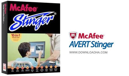 داونلود رایگان ورژن جدید McAfee AVERT Stinger (بدون تحریم)
