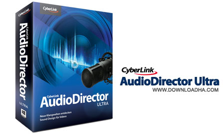 cyberlink audio director ultra ویرایش قدرتمند صدا CyberLink AudioDirector Ultra 3.0.2731