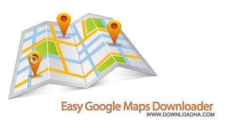 google maps downloader دانلود نقشه های گوگل Easy Google Maps Downloader 7.14