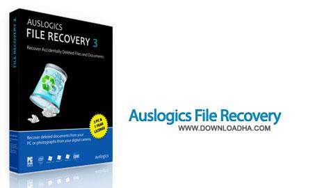 بازیابی فایل های حذف شده Auslogics File Recovery 4.4.0.0