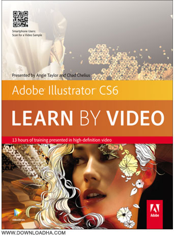 Adobe Illustrator Cs6 آموزش کار با ادوبی ایلوستریتور Adobe Illustrator CS6 Learn By Video