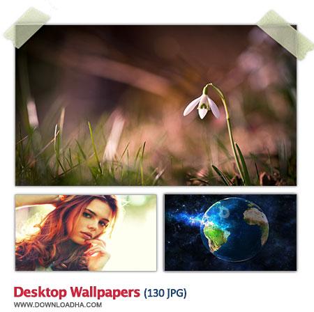 Desktop Wallpapers S10 مجموعه 130 والپیپر زیبا برای دسکتاپ Desktop Wallpapers