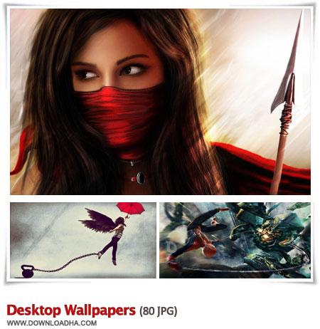 Desktop Wallpapers S3 مجموعه 80 والپیپر زیبا برای دسکتاپ Desktop Wallpapers
