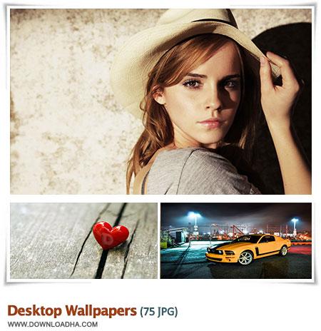 Desktop Wallpapers S5 مجموعه 75 والپیپر متنوع برای دسکتاپ Desktop Wallpapers