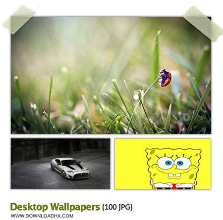 Desktop Wallpapers S8 مجموعه 100 والپیپر متنوع برای دسکتاپ Desktop Wallpapers