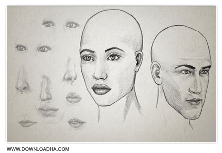 Drawing Facial Features      Drawing Facial Features