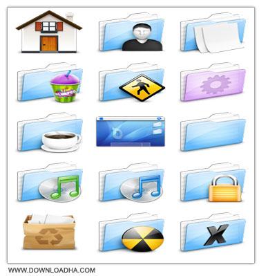 Ekisho Deep Ocean icon مجموعه آیکون هایی گرافیکی با عنوان Ekisho Deep Ocean Icon