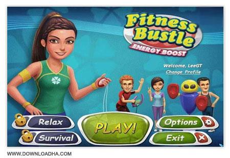 Fitness Bustle Energy Boost دانلود بازی مدیریتی Fitness Bustle Energy Boost