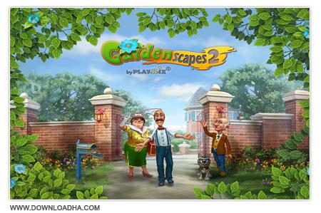 Gardenscapes 2 بازی سرگرم کننده و کم حجم Gardenscapes 2