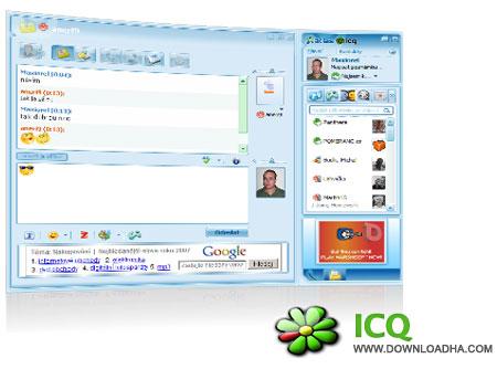 ICQ دانلود مسنجر قدرتمند و زیبای ICQ 8.0 Build 6019