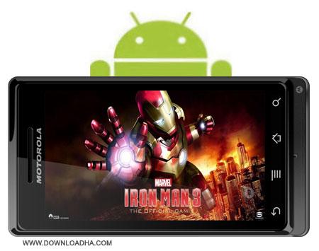 Iron Man 3 دانلود بازی مرد آهنی 3   Iron Man 3 v1.0.1 برای آندروید