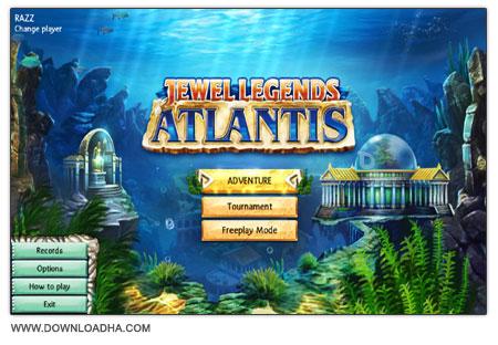 Jewel Legends 2 دانلود بازی سرگرم کننده Jewel Legends 2: Atlantis