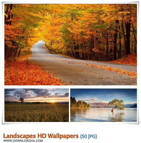 Landscapes HD Wallpapers S1 مجموعه ۵۰ والپیپر زیبا با موضوع طبیعت Landscapes HD Walpapers