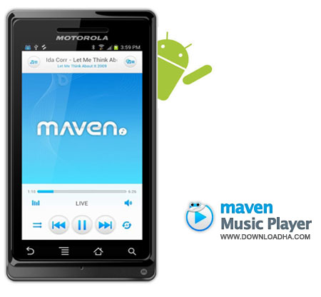 MAVEN Music Player موزیک پلیر زیبا و قدرتمند MAVEN Music Player v1.2.19   آندروید