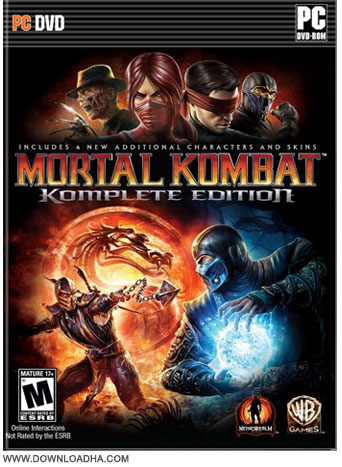 Mortal Kombat KE Cover دانلود بازی Mortal Kombat Komplete Edition برای PC