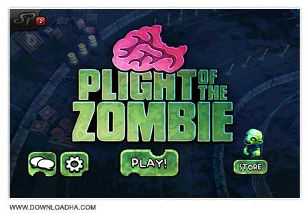 Plight of the Zombie بازی استراتژیکی و کم حجم Plight of the Zombie