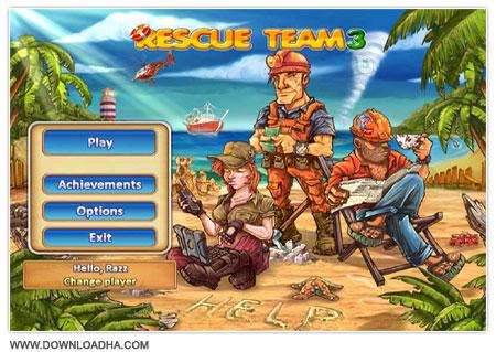 Rescue Team 3 دانلود بازی مدیریتی و کم حجم تیم نجات Rescue Team 3