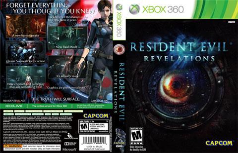 Resident Evil Revelations cover s دانلود بازی Resident Evil: Revelations برای XBOX360