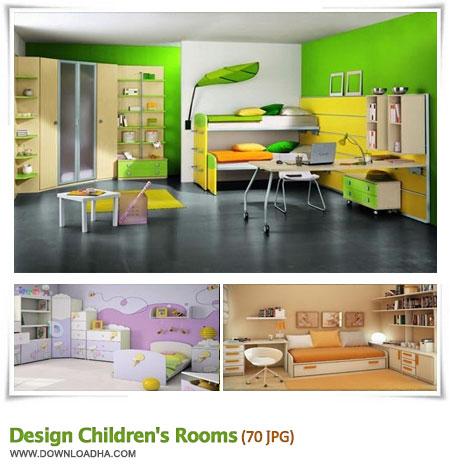 design childrens rooms مجموعه 70 والپیپر دکوراسیون اتاق کودکان Design Childrens Rooms