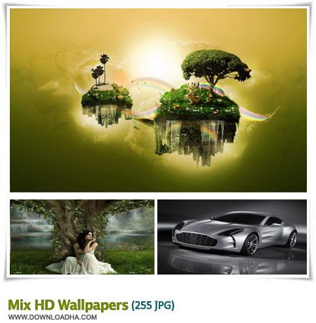 mixed wallpapers مجموعه 255 والپیپر میکس شده و بسیار زیبا Mix HD Wallpapers