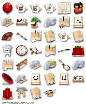 PG Icons Pack مجموعه 1247 آیکون PNG با موضوعات گوناگون PNG Icons Pack